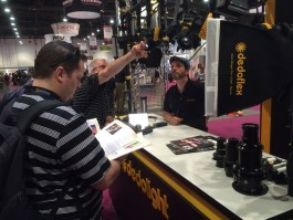 Learning about Dedolight at NAB 2015